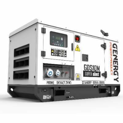 Grupo Electrógeno Diesel GDS10M