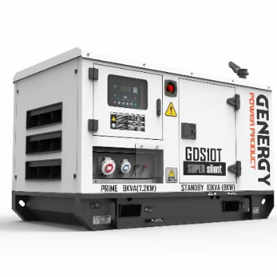 Grupo Electrógeno Diesel GDS10T