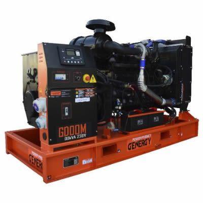 Grupo Electrógeno Diesel Abierto GD27M
