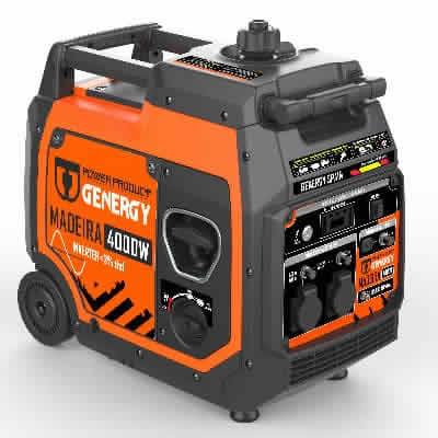 Generadores Inverter Madeira 4000W